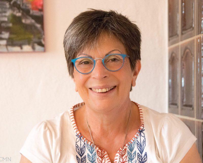 Die Gastgeberin Margit Heuser
